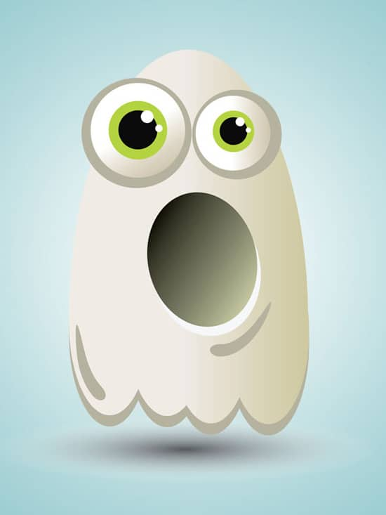 Create a Cartoon Ghost Character in Illustrator