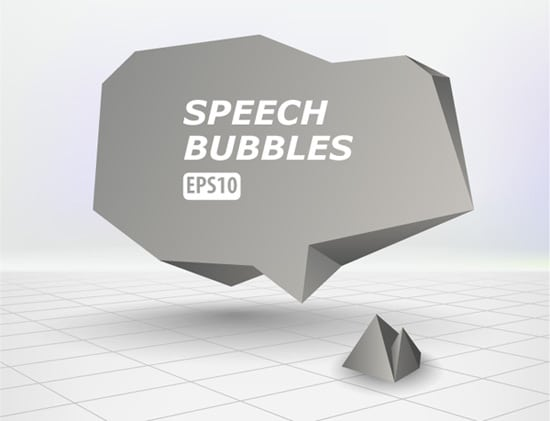 How to Create an Abstract Speech Bubble in Illustrator