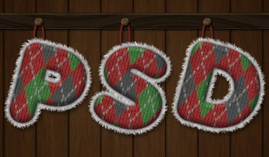 Create a Knitted Argyle Text Effect Using Filter Forge and Photoshop