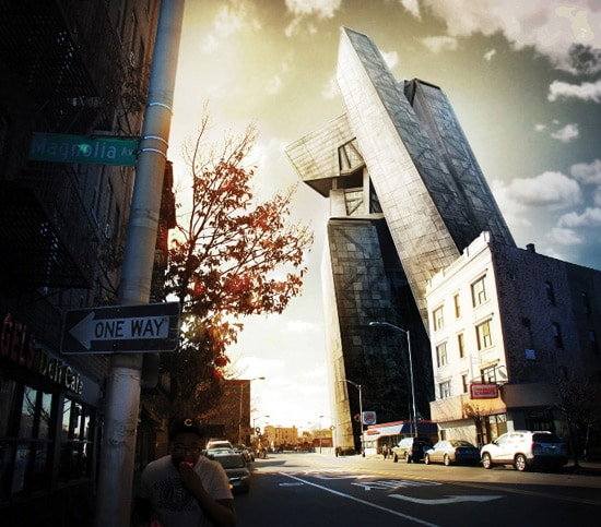 Photoshop tutorial: Composite a 3D building into a photo