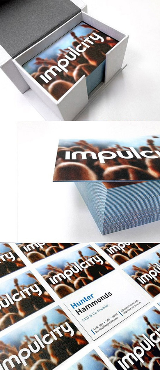 Impulcity business cards