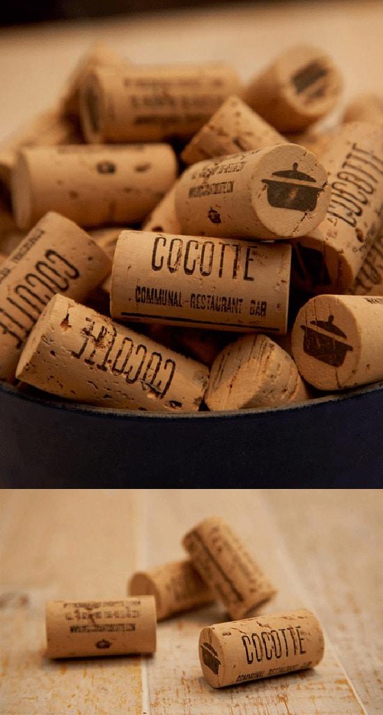 Cork Bottle Identity