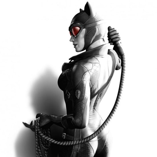 Cat Woman - iPad Wallpaper