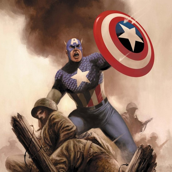 Captain America iPad Wallpaper