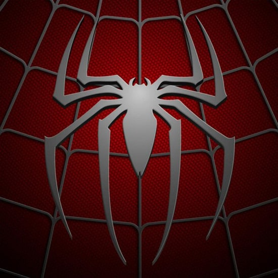 Spiderman Logo - iPad Wallpaper