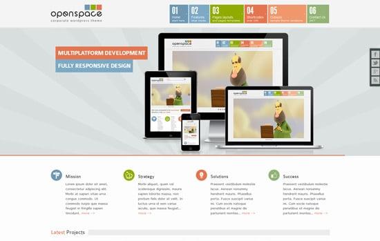 OpenSpace Responsive Mulipurpose WordPress Theme