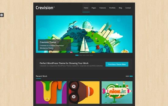 Crevision - Responsive WordPress Theme