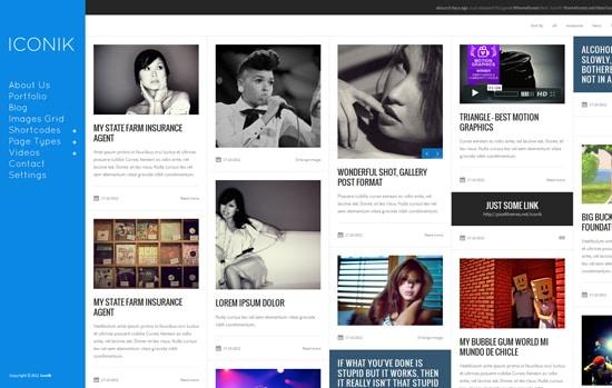 Iconik - Full Experience WordPress Theme