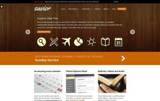 Savior - A Powerful Multi-Purpose WordPress Theme