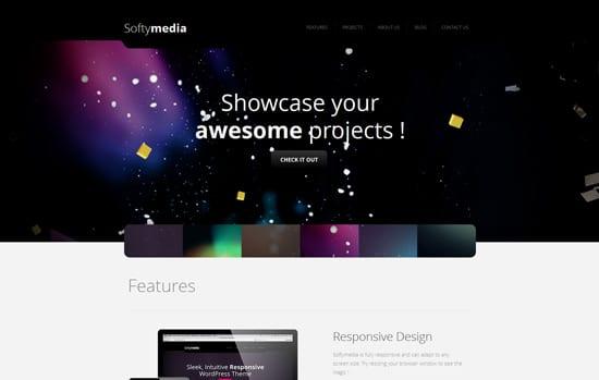 Softymedia - Responsive WordPress Theme