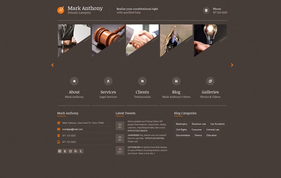 Themis - Law Business WordPress Theme