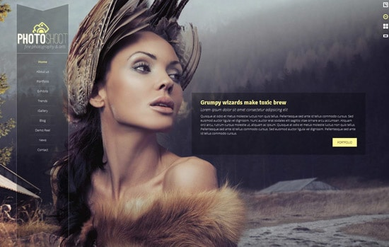 Photoshoot - WordPress Creative Portfolio