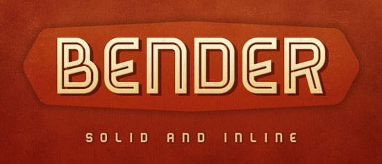 Bender Font