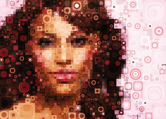 Adobe Illustrator & Photoshop tutorial: Design amazing mosaic effects