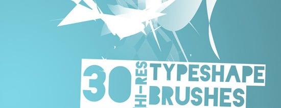TypeShape Brushpack