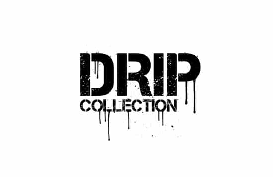 Drip Collection – 20 Brushes and Vectors