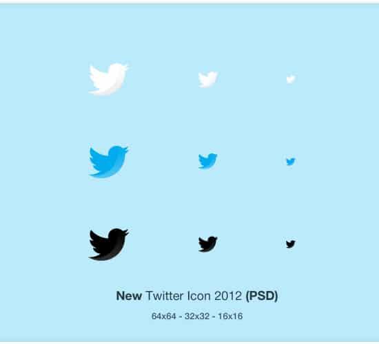 New Twitter Icon
