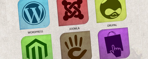 Free Download: Multicolor CMS Icon Set