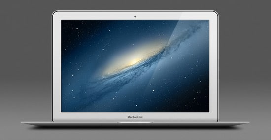 13-inch Apple MacBook Air (PSD)