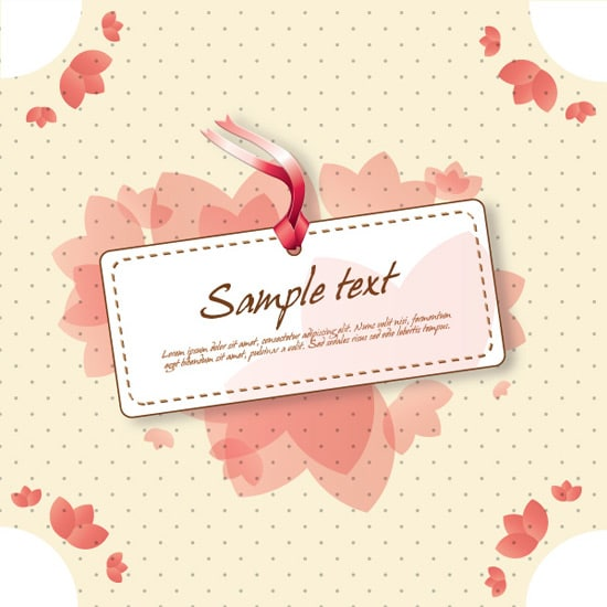 Cute Vintage Sign Vector Graphic