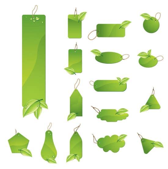 Vector Leaf Labels
