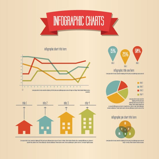 Retro Infographic - Vector Graphic by DryIcons