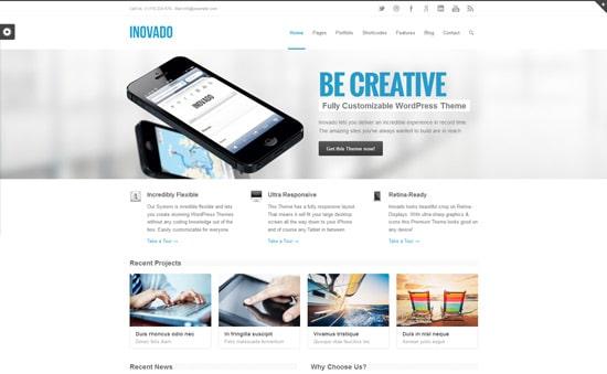 Inovado - Retina Responsive Multi-Purpose Theme