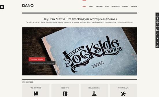 Dano Multi-purpose & Responsive WordPress Theme