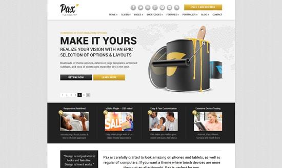 Pax | Premium Responsive Theme