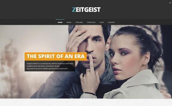 Zeitgeist Creative Responsive Theme
