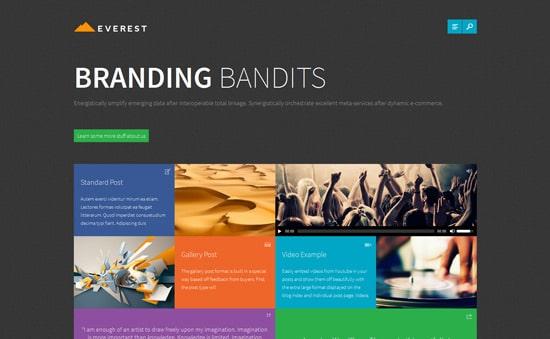 Everest - Premium WordPress Theme