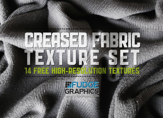 Creased Fabric Set: 14 Free Hi-Res Textures