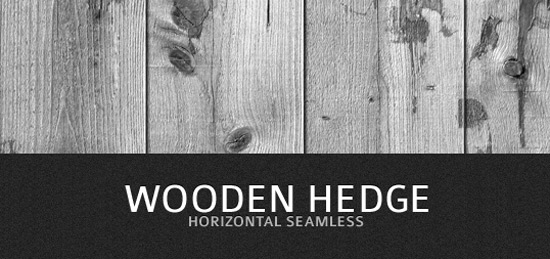 Seamless Wooden Hedge Texture