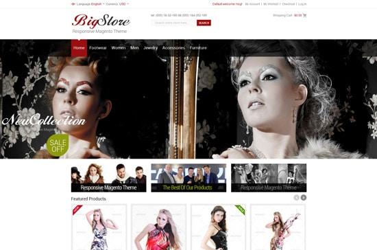BigStore - Responsive Magento Theme