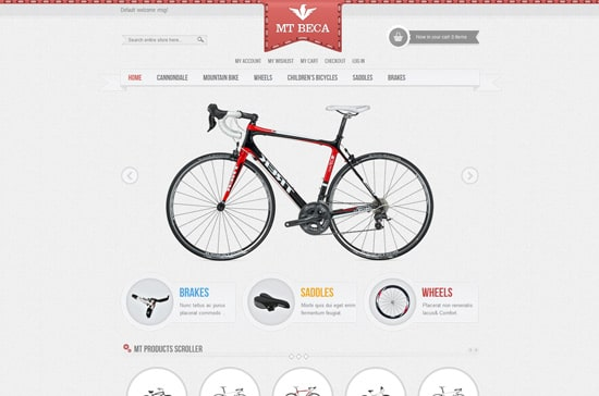 Accessories magento theme MT Beca