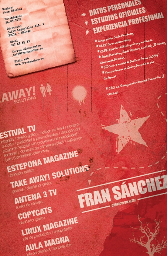CV by Fransanchez