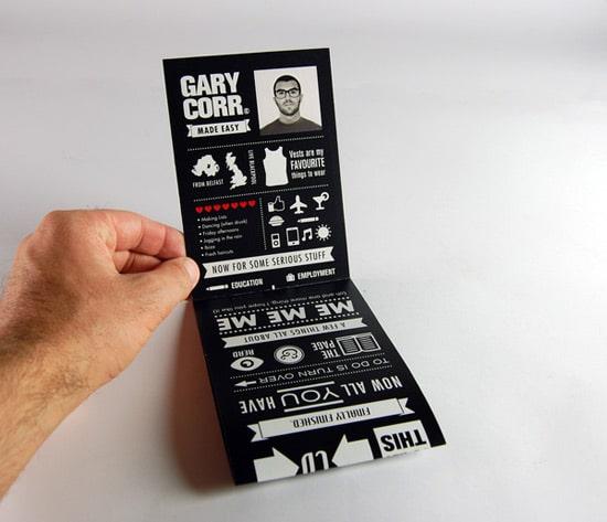 Gary Corr - Infographic CV