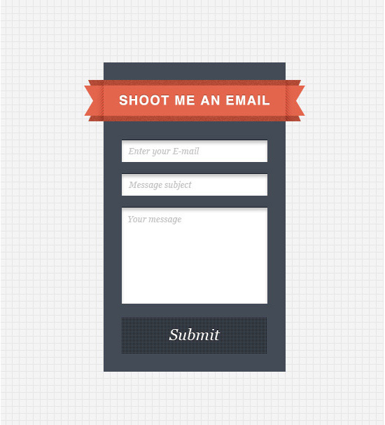 Simple Sidebar Contact Form