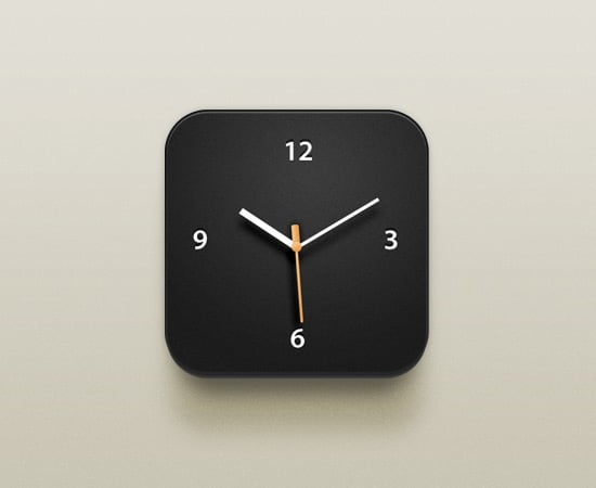 Clock iOS Icon