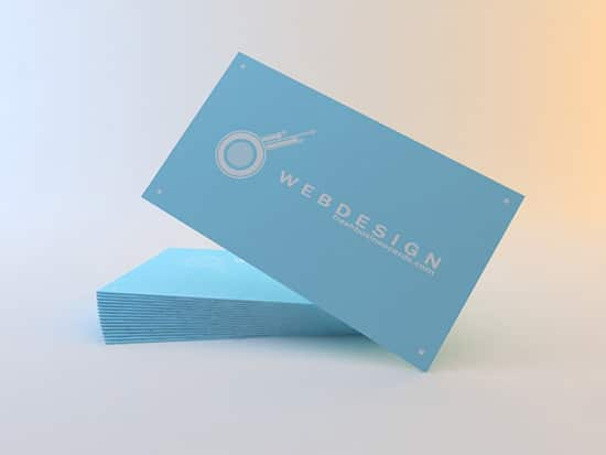 Clean Business Cards | Unique Business Cards