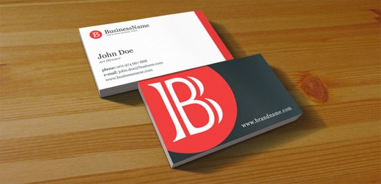 100 free business card templates designrfix free psd clean business card accmission Image collections