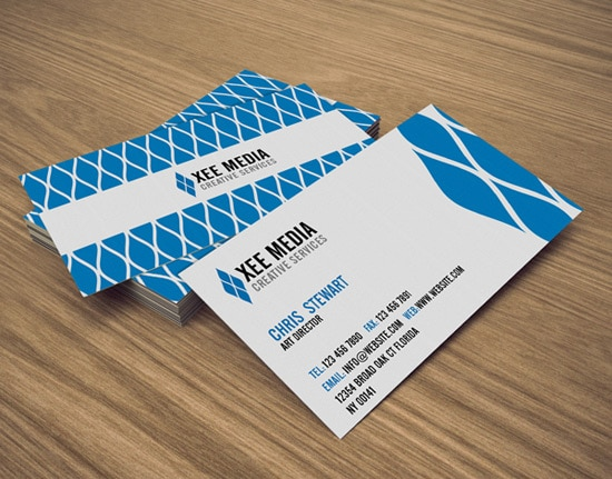 100 free business card templates designrfix free psd elegant business cards flashek Choice Image