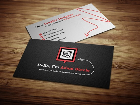 100 free business card templates designrfix free psd scan my qr code business cards friedricerecipe