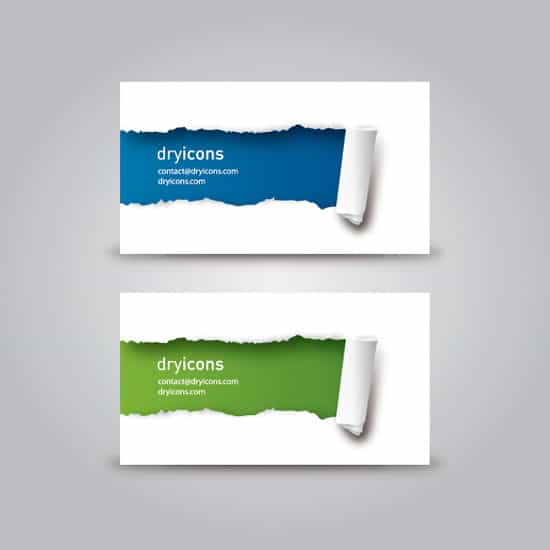 Ripped Business Cards