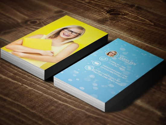 100 free business card templates designrfix free colorful card reheart Images