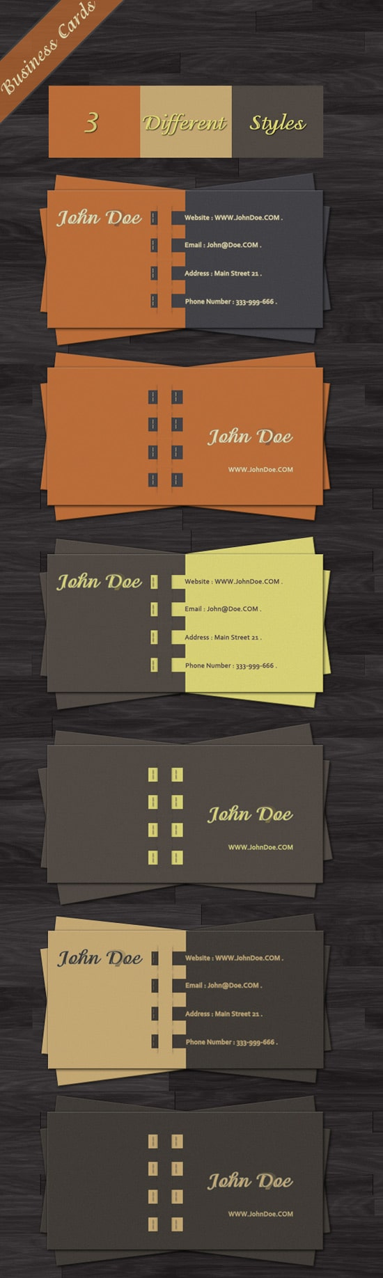 Free Business Card Templates Designrfixcom - Email business card templates