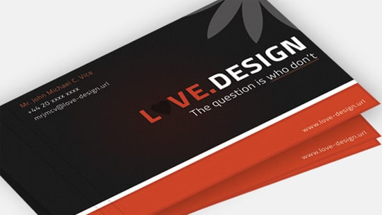 100 free business card templates designrfix love design business card reheart Choice Image