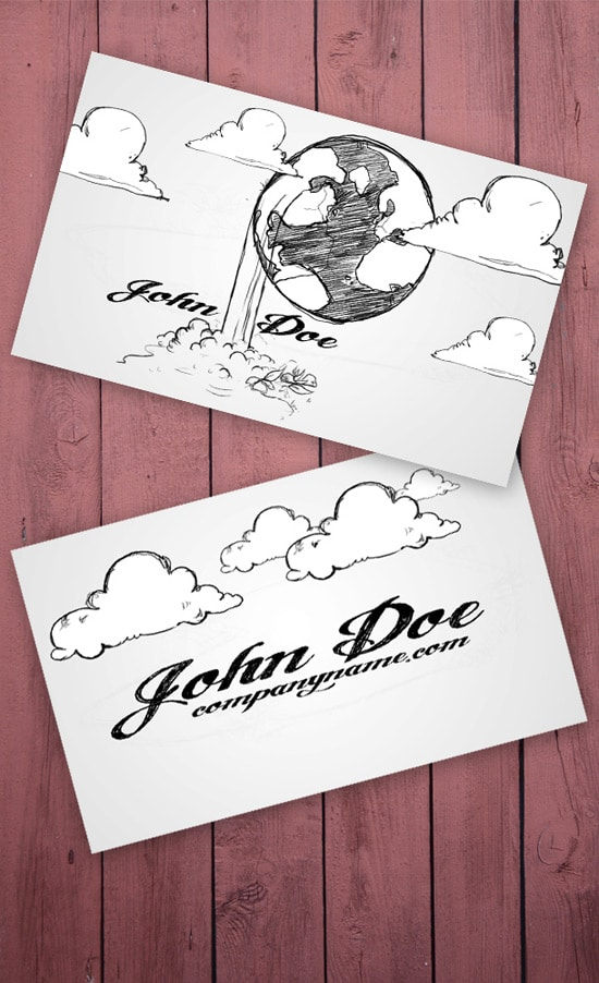 100 free business card templates designrfix cartoon business card colourmoves Image collections