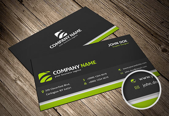 100 Free Business Card Templates Designrfixcom