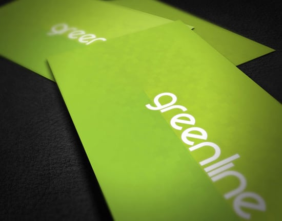 Free Green Business Card